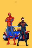 Spider-Man and Spider-Man by 2DSwirl