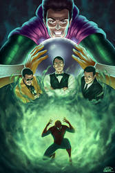 Bruce Campbell Mysterio [Commission]