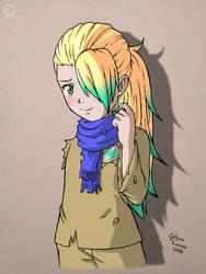 Drawing Riku (Fairy Tale OC) by ANIMEFREAK93867