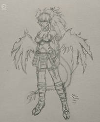 Hotaru (Demon), Fairy Tail OC by ANIMEFREAK93867