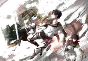 Attack on Titan - Annie Leonhardt by soompook2122