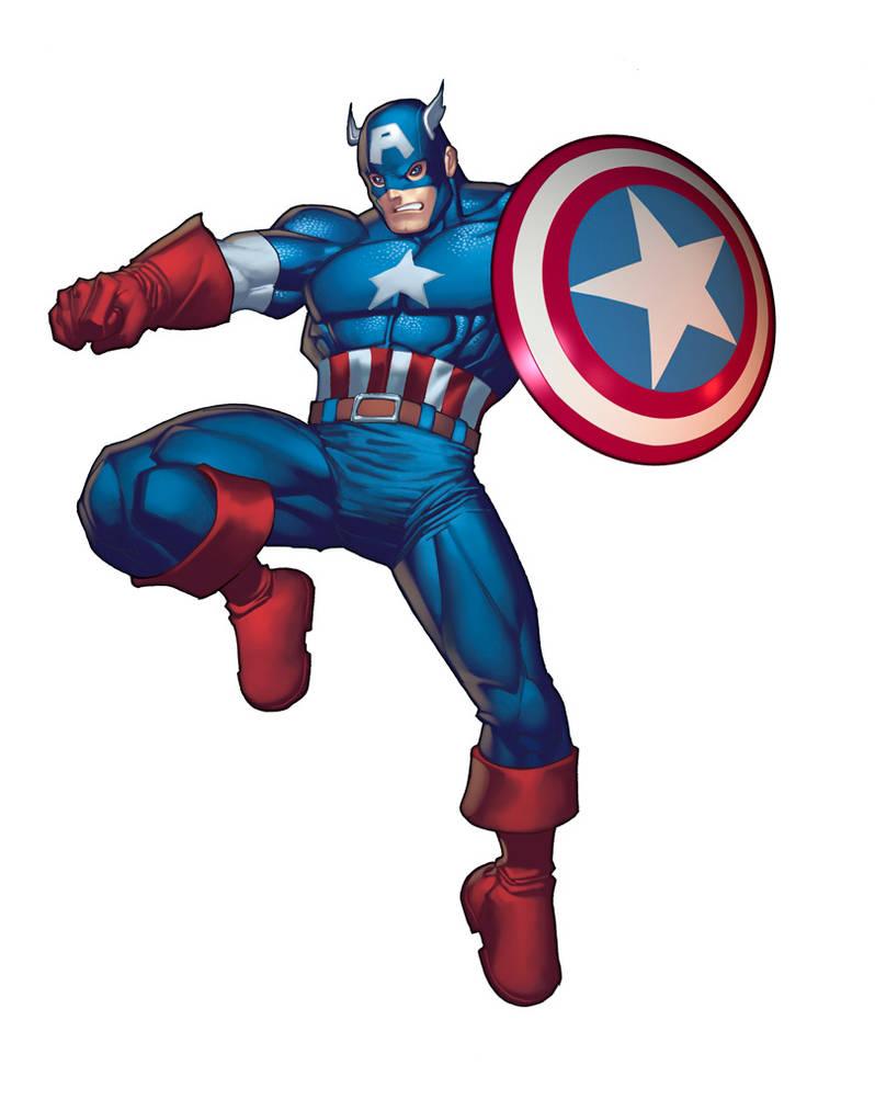 Captain America by RyanKinnaird