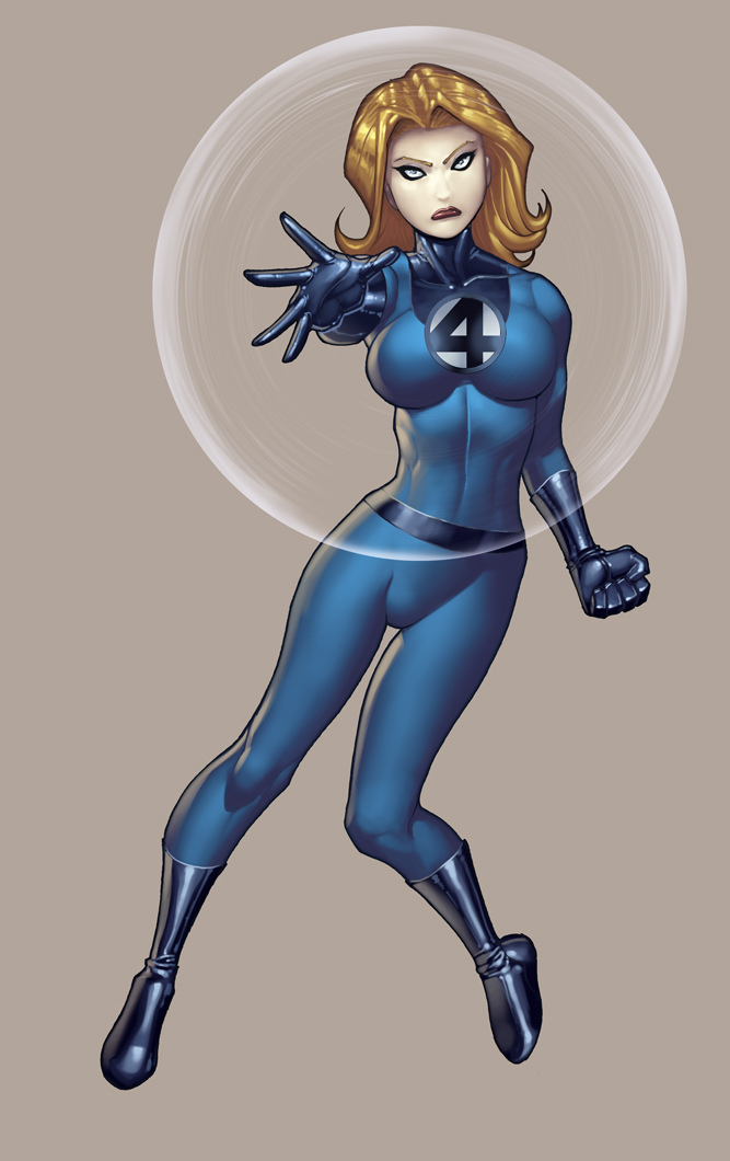 Invisible Woman by RyanKinnaird