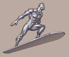 SILVER SURFER by RyanKinnaird