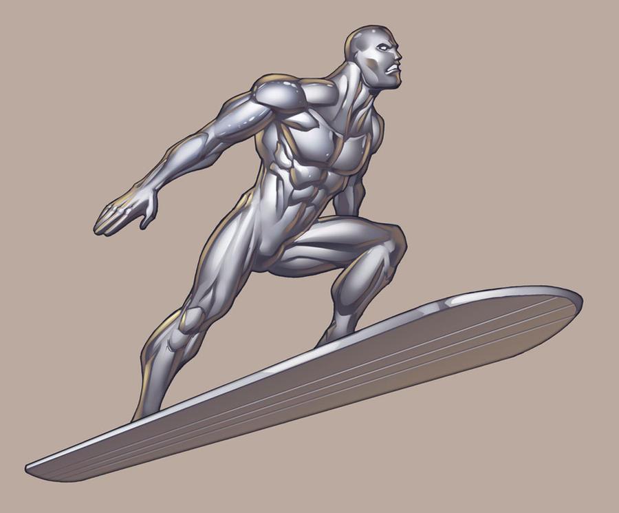 Silver Surfer By Ryankinnaird On Deviantart