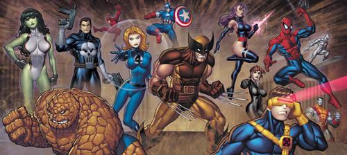 Marvel VS - UpperDeck PromoArt by RyanKinnaird