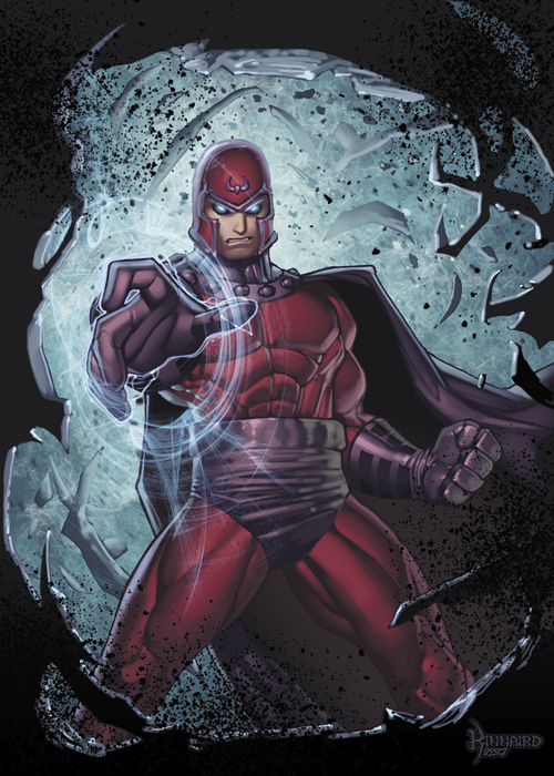 Magneto Pissed by RyanKinnaird
