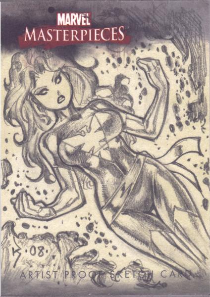 Phoenix Sketch Card by RyanKinnaird