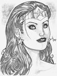 Wonder Woman Headshot