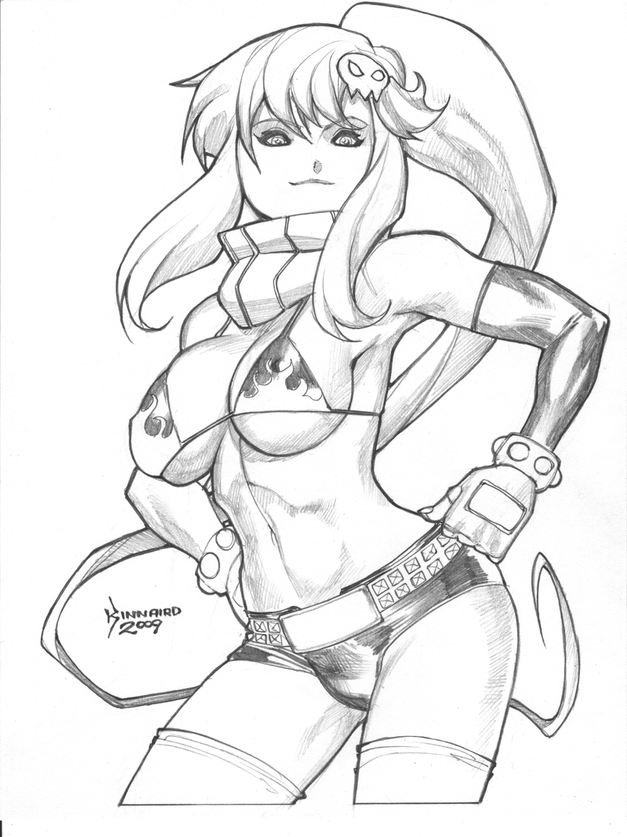 Yoko from Gurren Lagan by RyanKinnaird