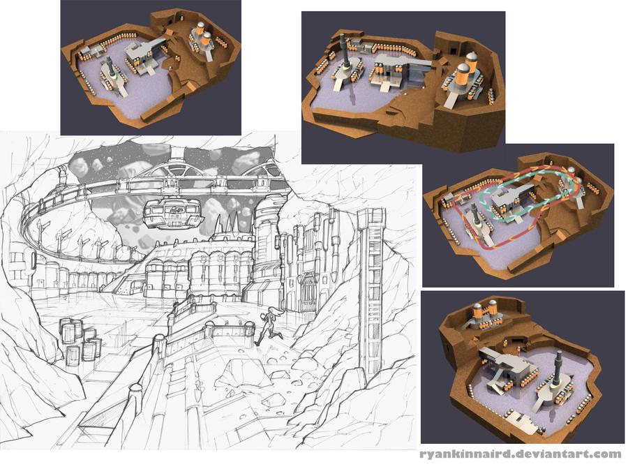 Level Concept 01 by RyanKinnaird