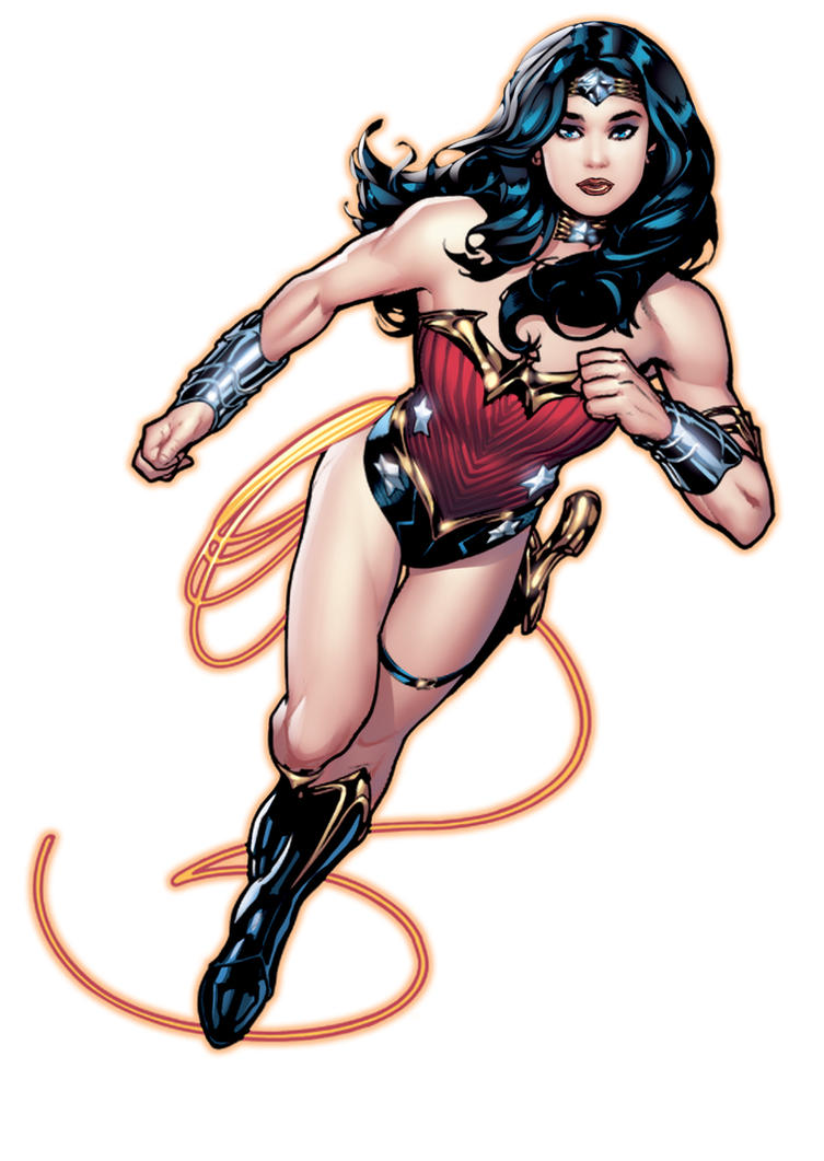AH! Wonder Woman New52 Color Play by RyanKinnaird
