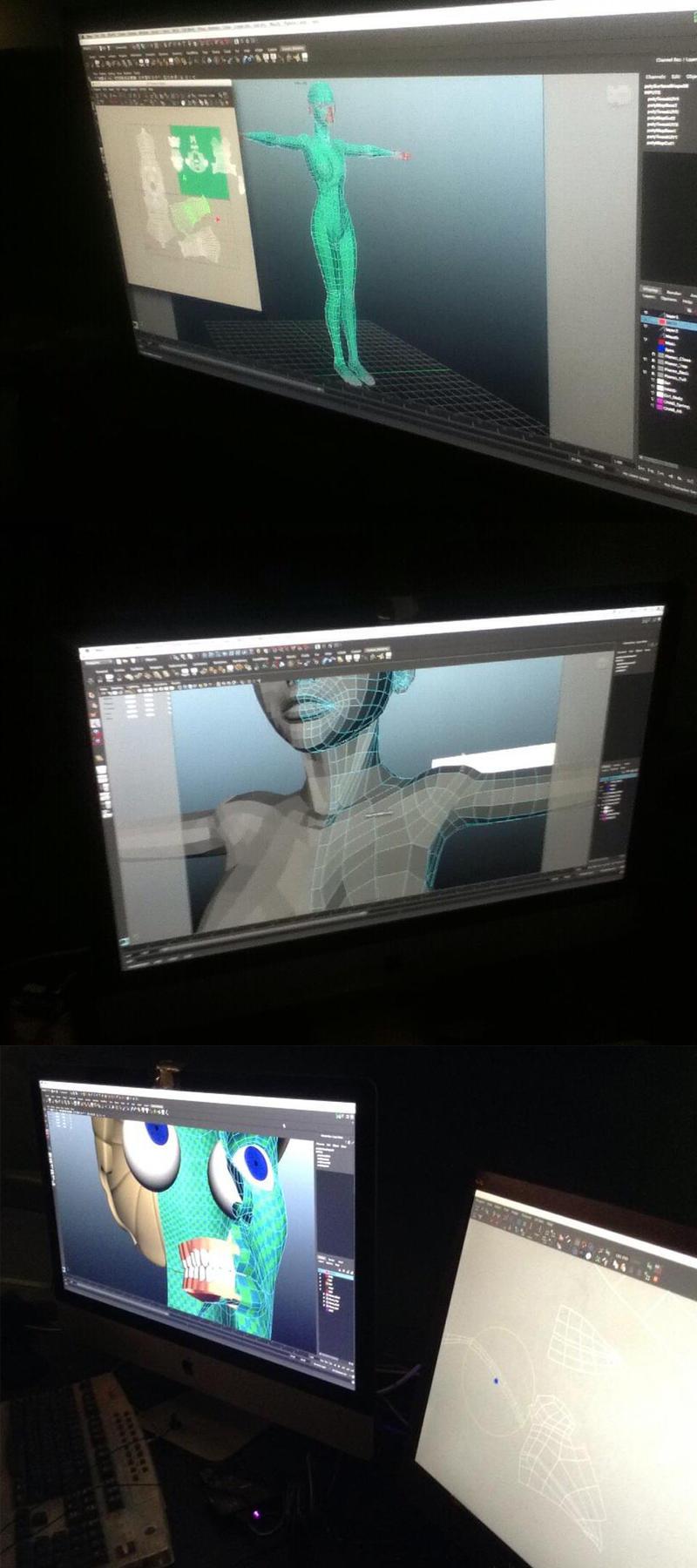 FIgure being modeled by RyanKinnaird