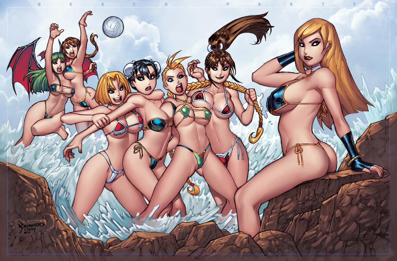 BEACH PARTY by RyanKinnaird