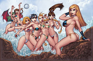 BEACH PARTY by RyanKinnaird