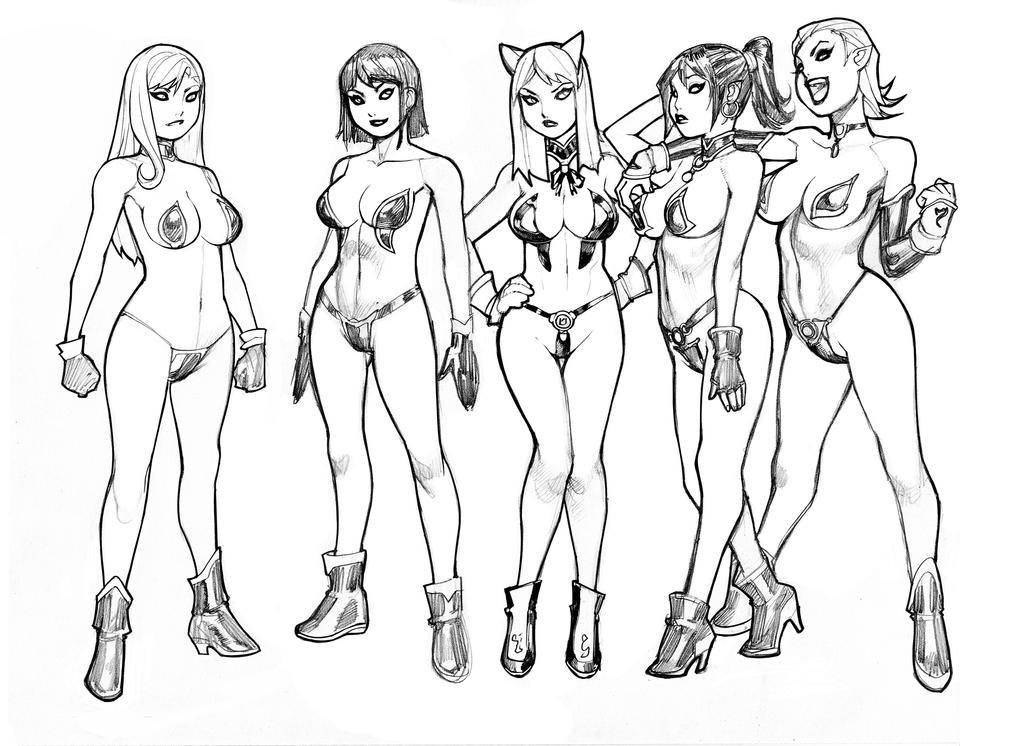 Maidens Designs by RyanKinnaird