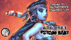Cover for Dan Medozas SAD GIRL PSYCHO BABY #2