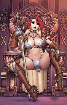 RED SONJA #28 COVER