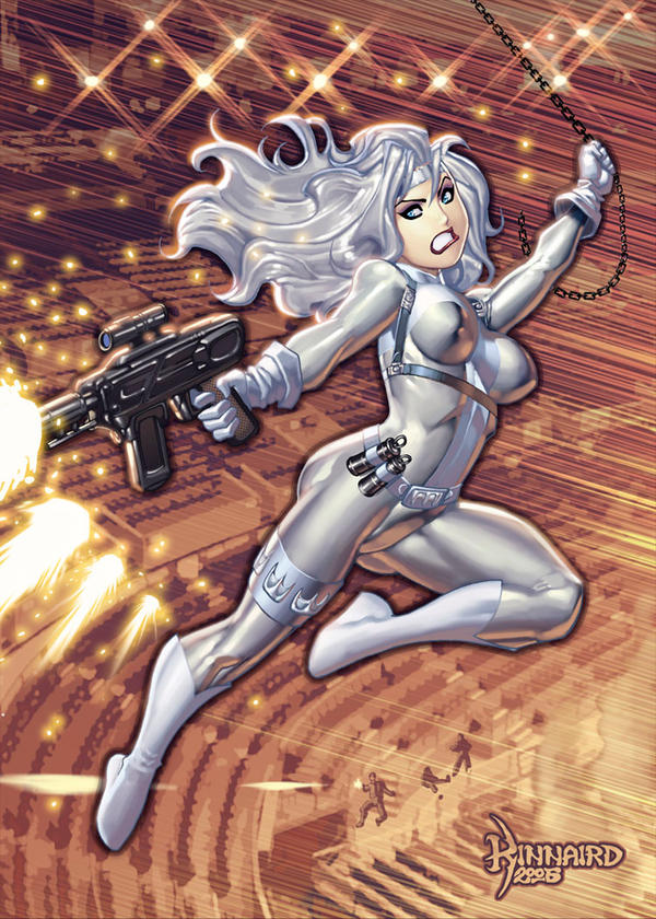 Silver Sable by RyanKinnaird