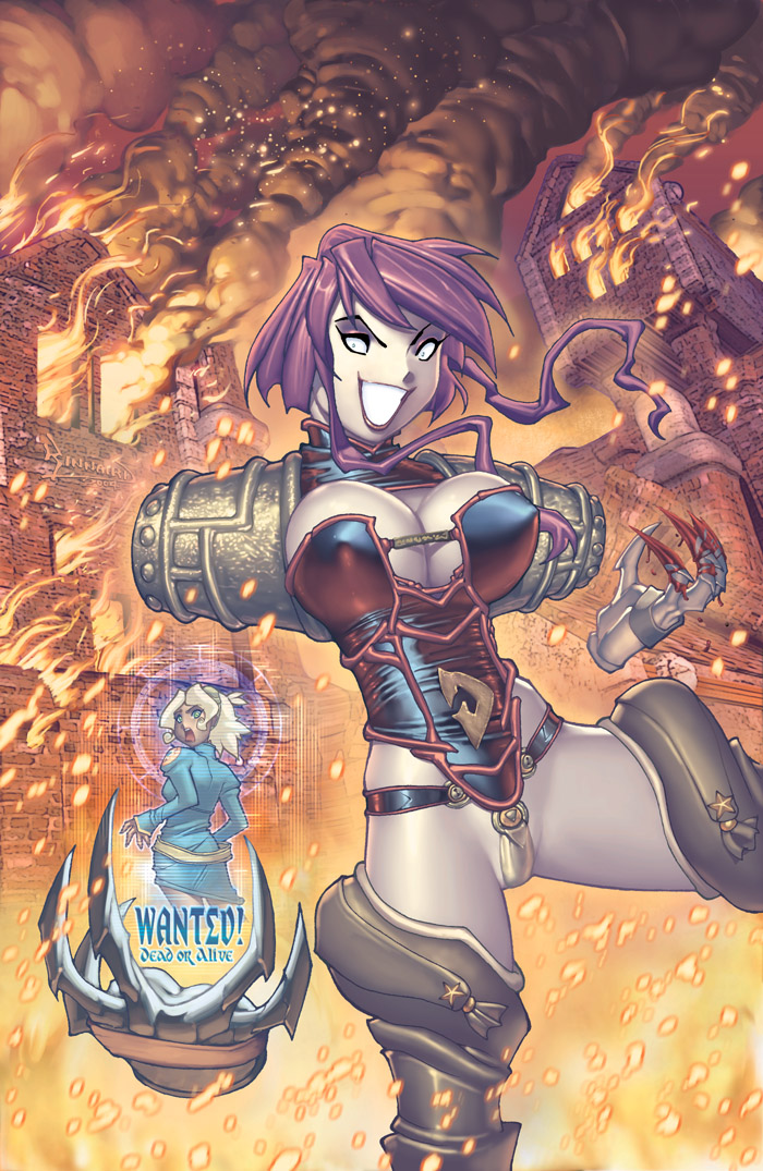 CannonBusters2 Varient cover by RyanKinnaird