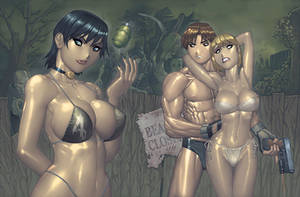 Resident Evil 4 SwimSuit PinUp