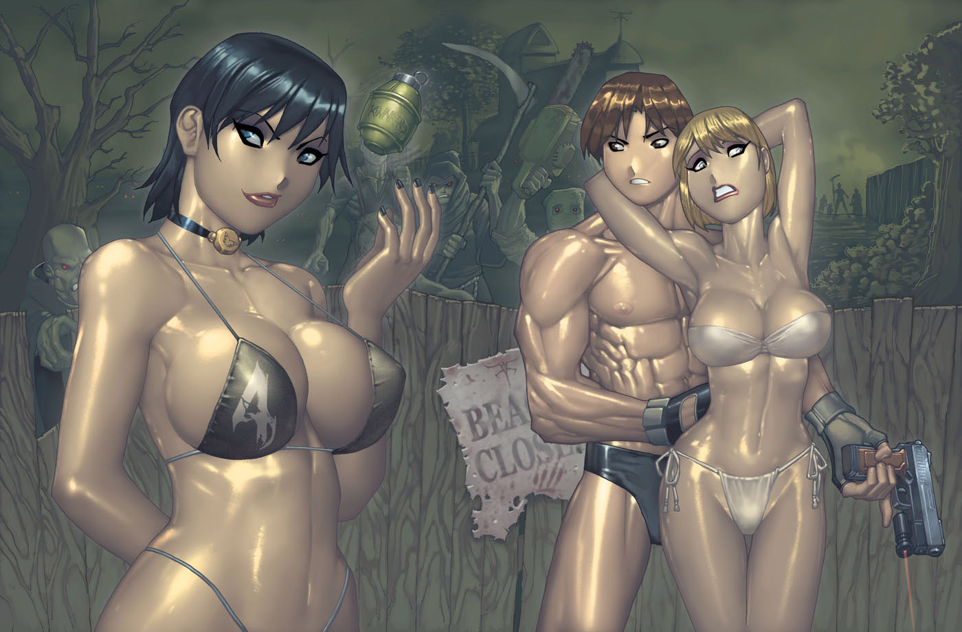 Leon and ashley porn resident evil 4 erotica photos