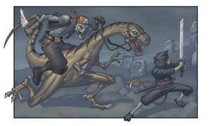 ZombiePirate VS NinjaMonkey
