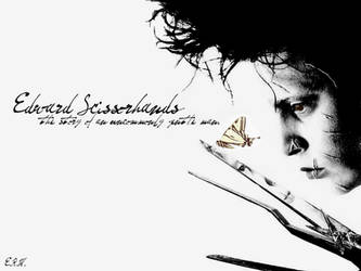 Edward Scissorhands beta by InsomniaCrackers