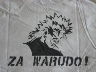 Dio Stencil-Shirt by SciFiChicken