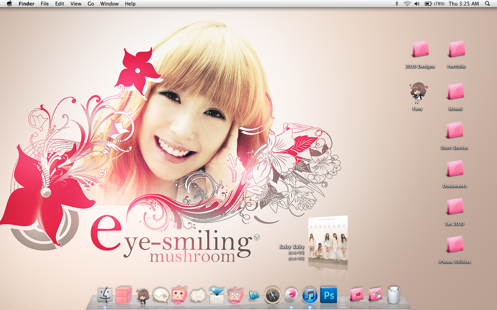 Tiffany wallpaper desktop by xyunaxfantasiesx