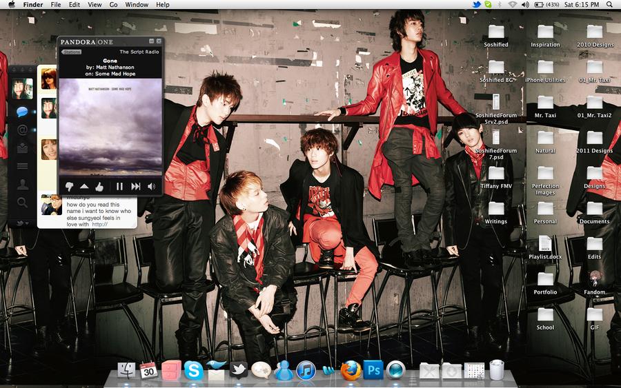 SHINee Desktop 4-30-11 by xyunaxfantasiesx
