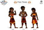 EA: Fire Tribe Elves Main Cast by BlueSky-Writer