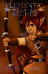 Elemental Archer Cover by BlueSky-Writer