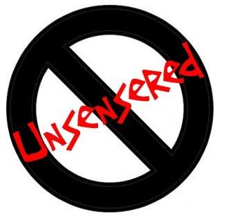 Unsensered Logo by ToeKneeManGo