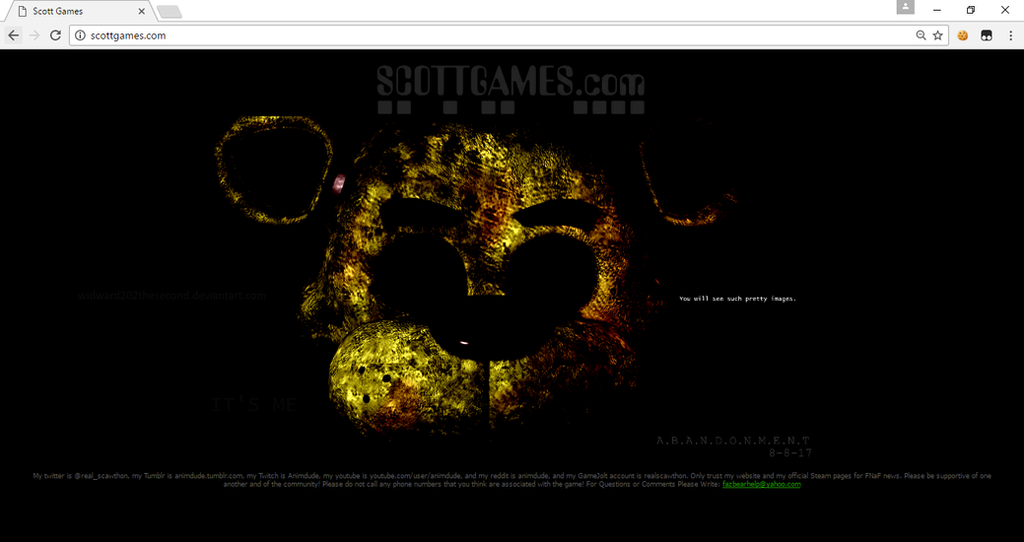 OMG SCOTTGAMES by widward202thesecond