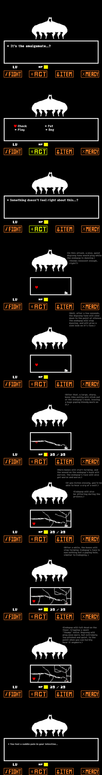 Undertale...?: Scarier Endogeny fight preview by widward202thesecond