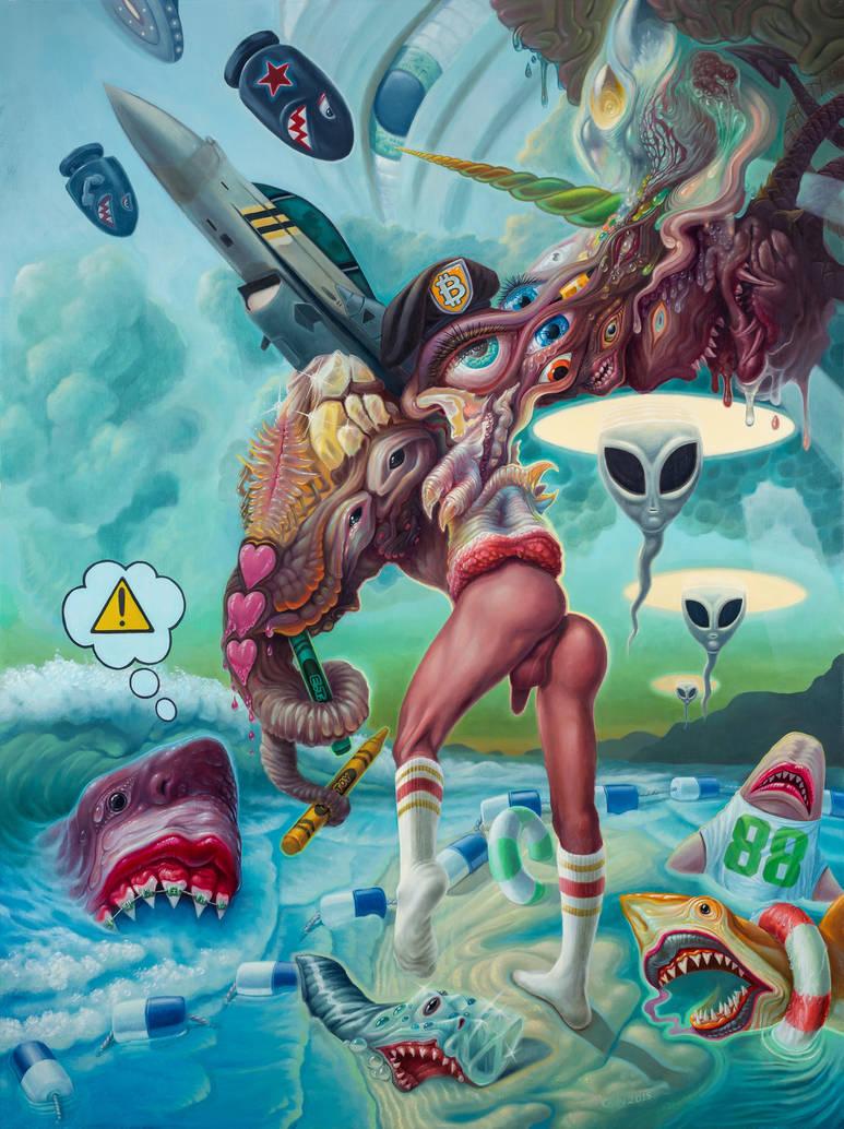 Alex in  Wonderland by elftantra