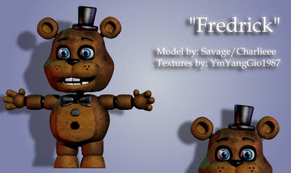 [Blender] Fredrick Model