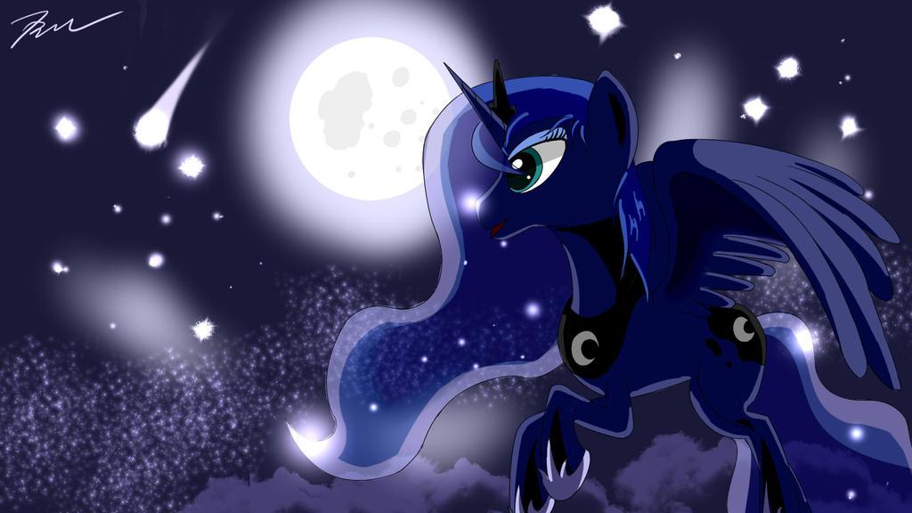 Princess Luna by Camaine