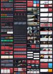 Flat Drop - Awesome Flat User Interface Kit