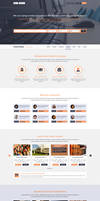 Coursaty - Awesome PSD Template by begha