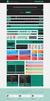 GreenSea Flat User Interface Kit