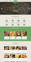 Sexy Food - Food Restaurant Template