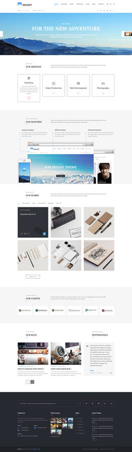 Mount Multipurpose Business Template