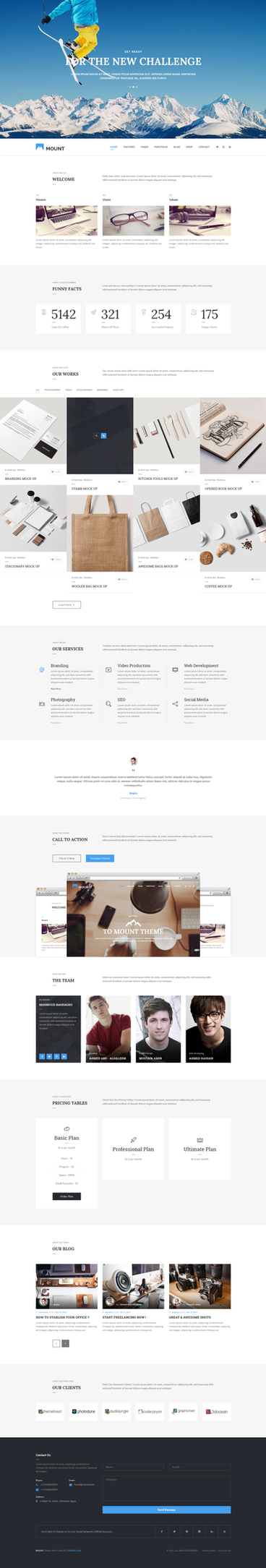 Mount Onepage by begha