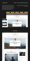 TimeLess Clean Personal WordPress Blog Theme