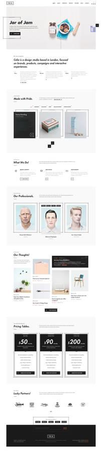 Celia - Creative PSD Template