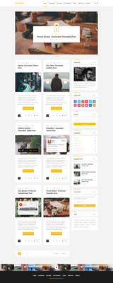 Wellow Clean Personal Blogging Theme