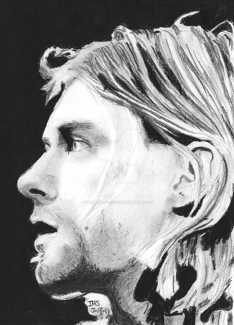 Kurt Cobain- King of Grunge by Wethinktoohard