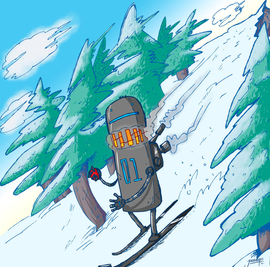 09.02.12 SnowRoboto 01 by juandapo
